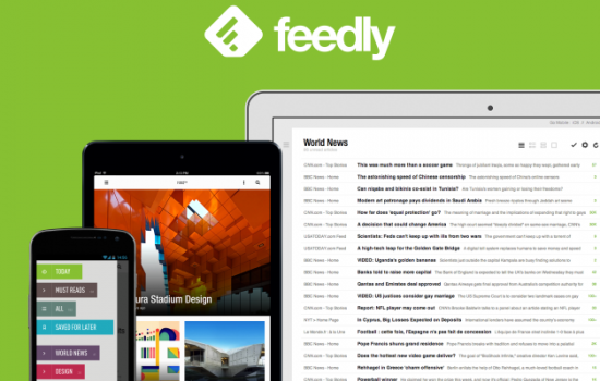 Featured App: Feedly – Your Personal News Reader