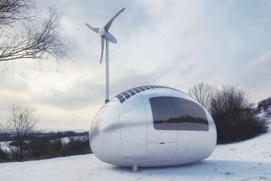 Ecocapsule: Tomorrow's RV?